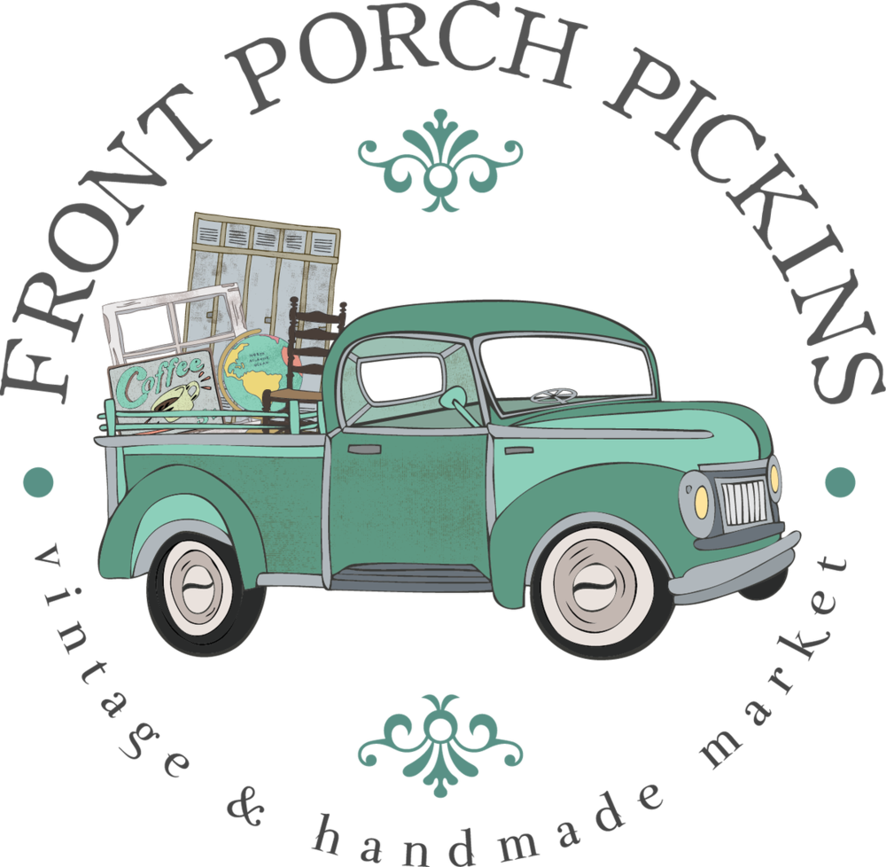 Holiday shoppers market provided by front porch pickins - Check out more here »