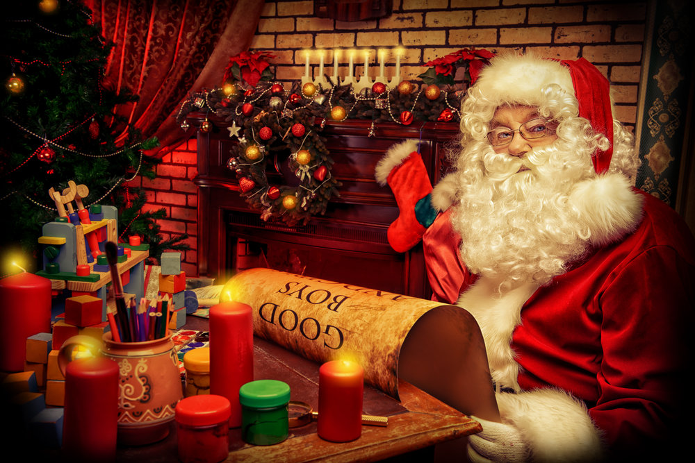 Visit with Santa -