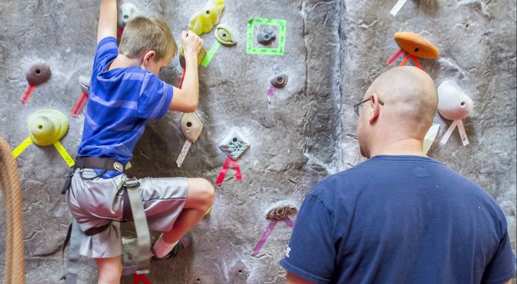 CLIMBING WALLS - We bring the mountain to you!Our 25 ft. mobile climbing walls provide a safe, fun, realistic rock climbing experience that up to four climbers can use simultaneously. We provide beginner, intermediate or advanced routes to suit all abilities. Climbers as young as four years, and over seventy, have enjoyed our climbing walls!