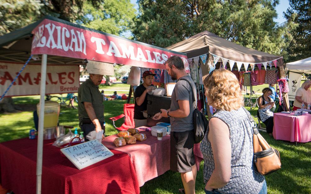 Mexican Tamales - Vendor Type ConcessionaireMarket Location  Buena Vista & Salida