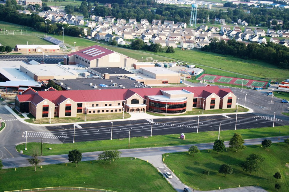 Smyrna High School Renovation -  Smyrna, Delaware (photo via Delaware Gov)