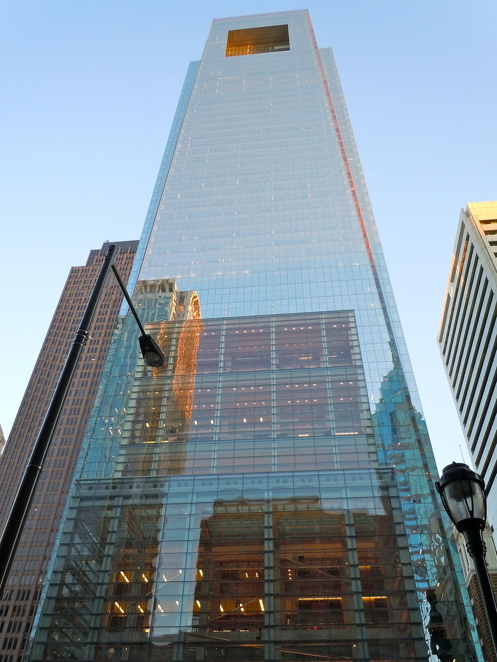 Comcast Center, Center City Philadelphia -  in progress  (photo via Visit Philly)