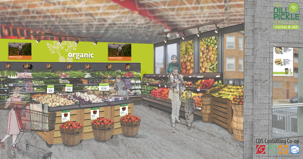 Future produce department!
