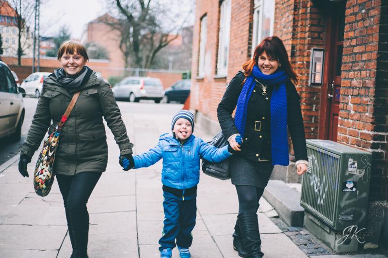 Barbara, Iris & Joan Petur  Copenhagen 2012