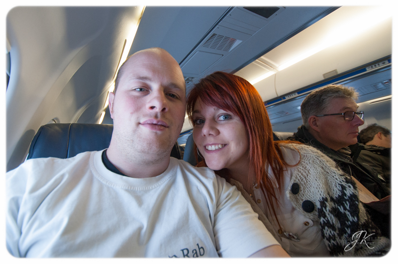 On the plane with irisThe Faroe's 2012