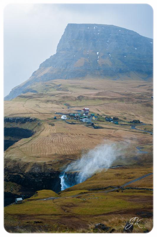 Gásadalur Faroe Islands The Faroe's 2012