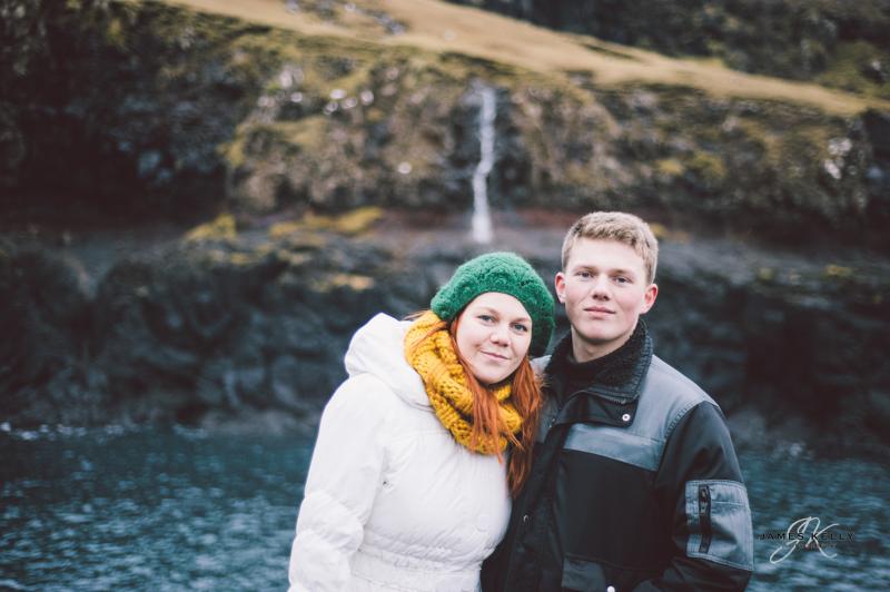 Iris & Herálvur,  Fiskieiðið in Hvalba, Faroe Islands