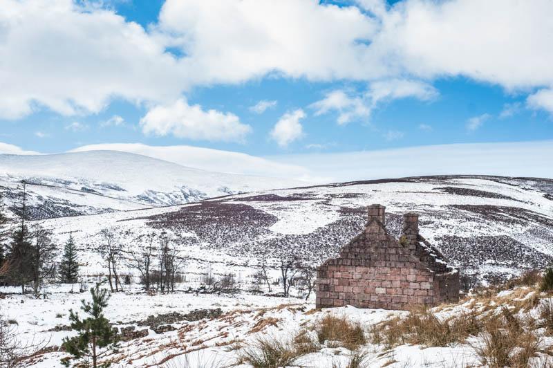 Clachenden & The Old Militery Road, Aberdeenshire