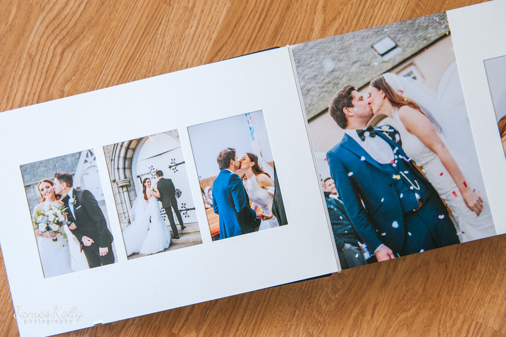 Modern flushmount  - Modern Flushmount where the photos are printed directly onto the page.  Flushmount Albums start at £485 with sizes: 10x7