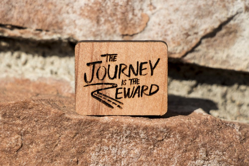 The Journey is the Reward, Redwood. Click image to buy.
