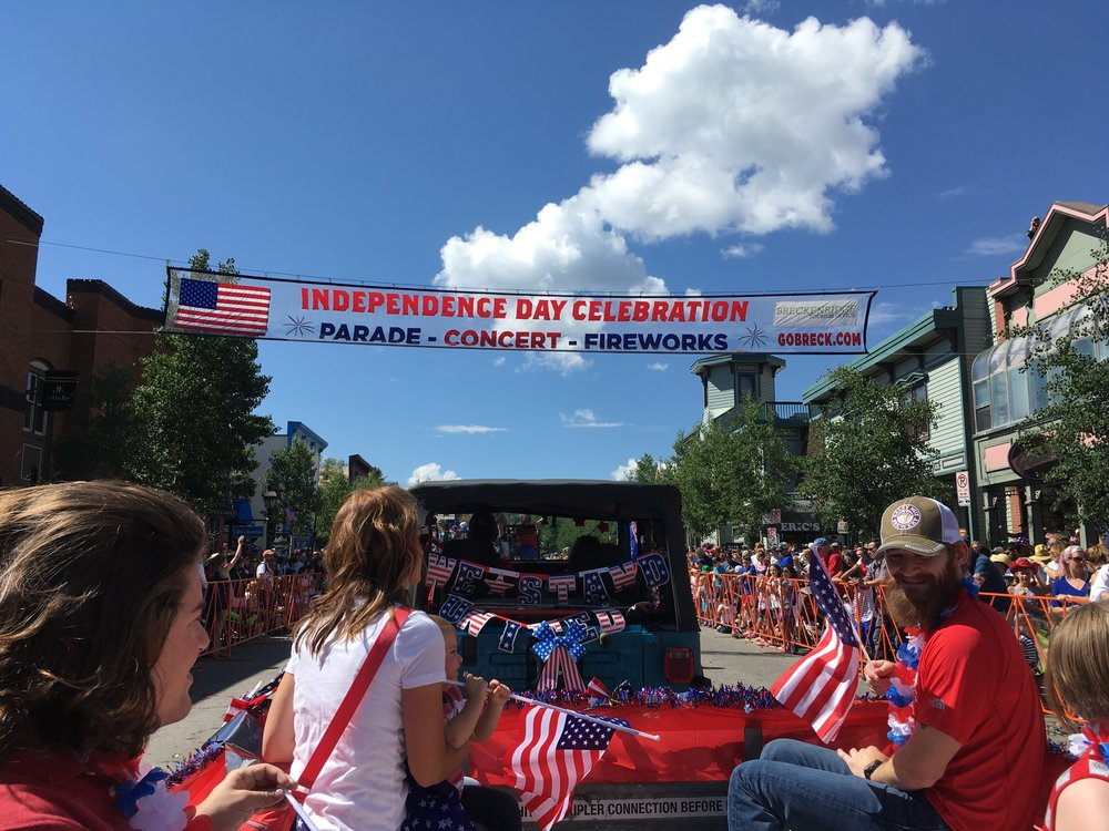 Fourth of July Parade in Breckenridge, Colordao