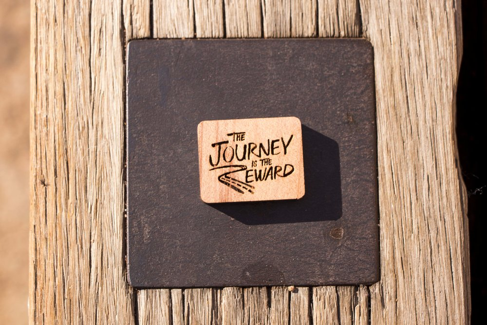 Journey is the Reward Storypin