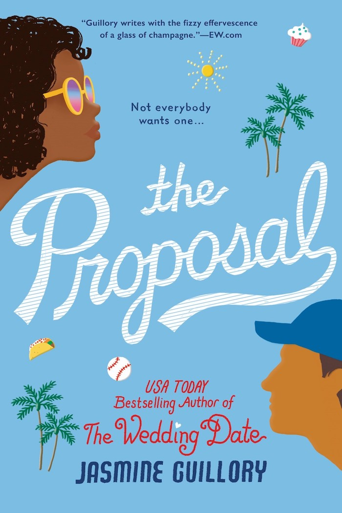 The Proposal - Coming October 30, 2018!When someone asks you to spend your life with him, it shouldn't come as a surprise — or happen in front of 45,000 people.When freelance writer Nikole Paterson goes to a Dodgers game with her actor boyfriend, his man bun, and his bros, the last thing she expects is a scoreboard proposal. Saying no isn't the hard part—they've only been dating for five months, and he can't even spell her name correctly. The hard part is having to face a stadium full of disappointed fans...At the game with his sister, Carlos Ibarra comes to Nik's rescue and rushes her away from a camera crew. He's even there for her when the video goes viral and Nik's social media blows up—in a bad way. Nik knows that in the wilds of LA, a handsome doctor like Carlos can't be looking for anything serious, so she embarks on an epic rebound with him, filled with food, fun, and fantastic sex. But when their glorified hookups start breaking the rules, one of them has to be smart enough to put on the brakes...