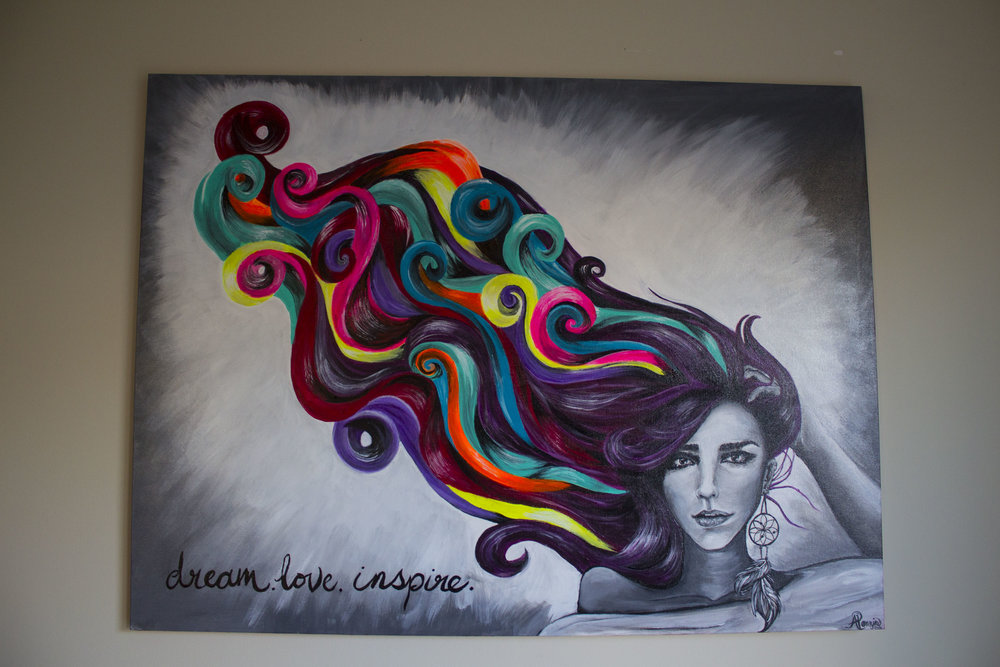 Dream, Love, Inspire 30in x 40in