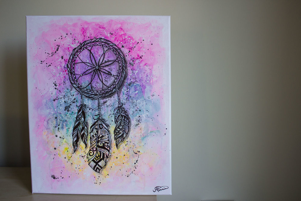 Dream Catcher 16in x 20in