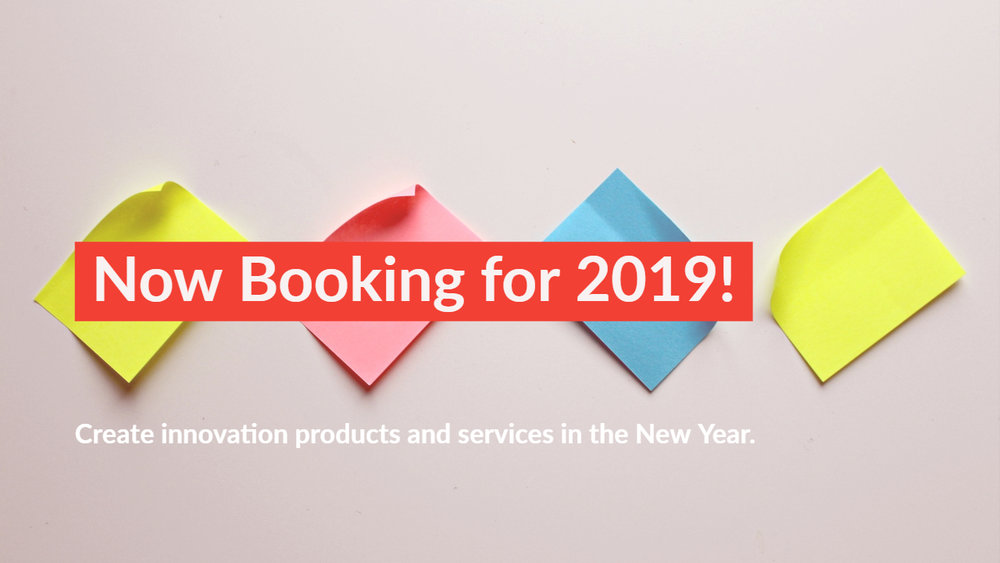 The Evokery is now booking Design Sprint 2.0 starting in January 2019!