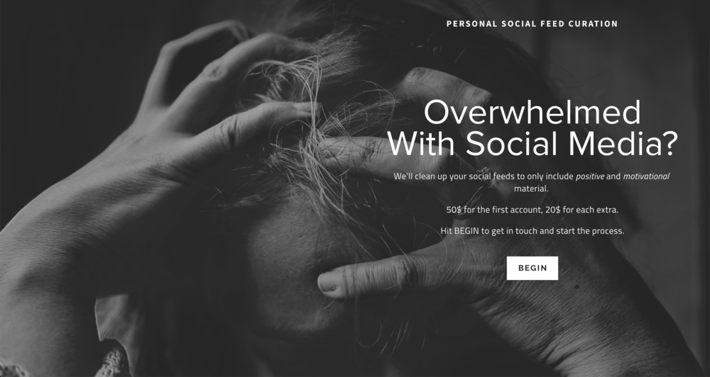 Personal Social Feed Curation