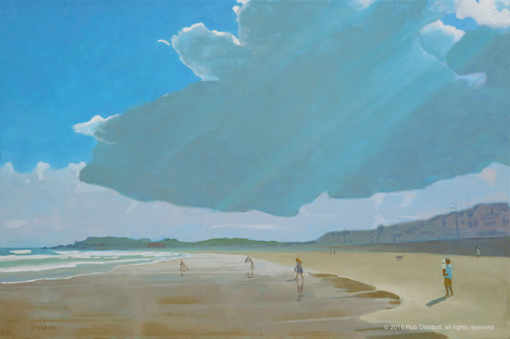 Summer Cloud, 32 x 48, oil on linen
