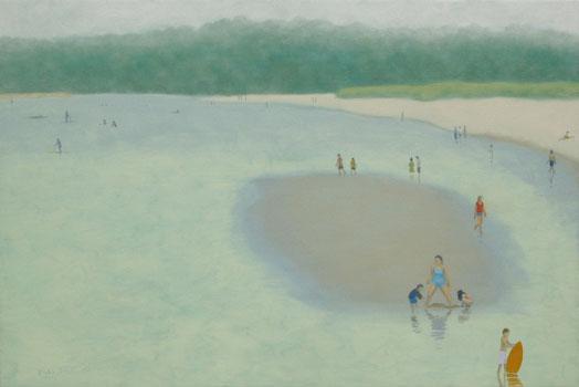 Sandbar (2013) – oil on linen – 24 x 36