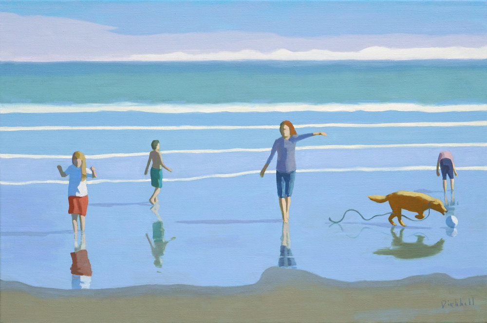 Sand Dance II, 20 x 30, oil