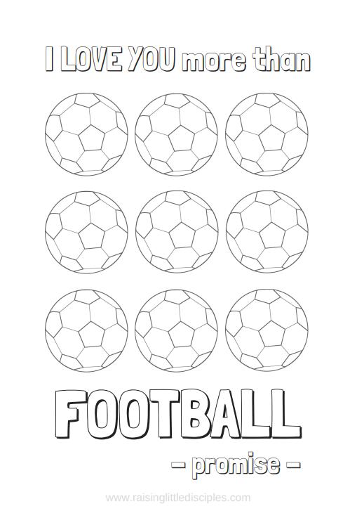 Raising Little Disciples More than Football