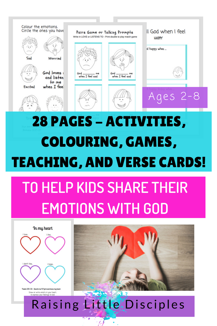 Sharing Emotions eBook by Raising Little Disciples