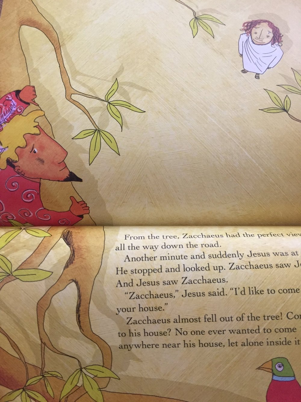 The Story Of Zacchaeus With Craft Parachute Games And Printables