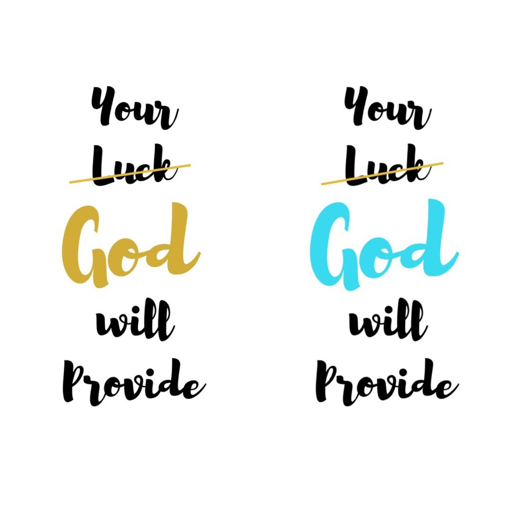 Your God Provides, wallpaper