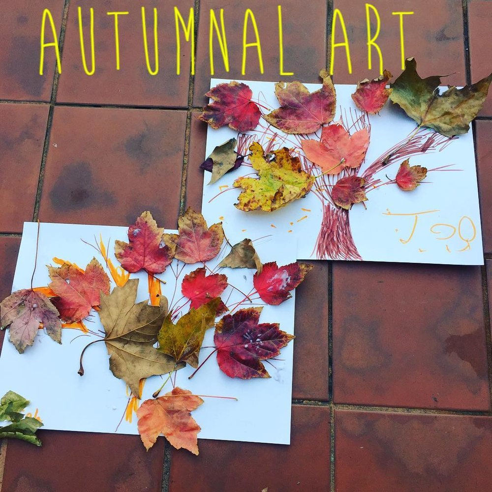 Autumnal art activities