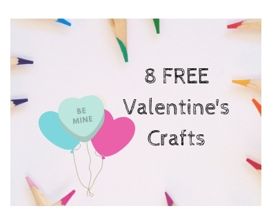 6 FREE Valentine\'s Day Craft Printables — Raising Little Disciples
