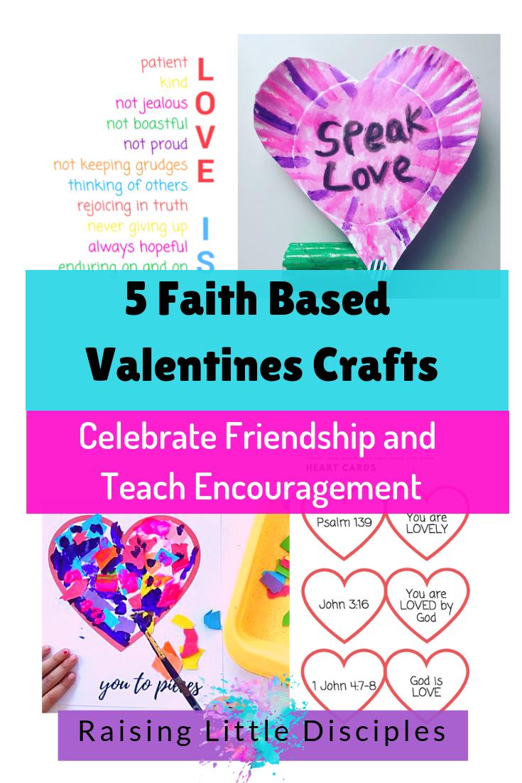 Raising Little Disciples Faith Based Valentines