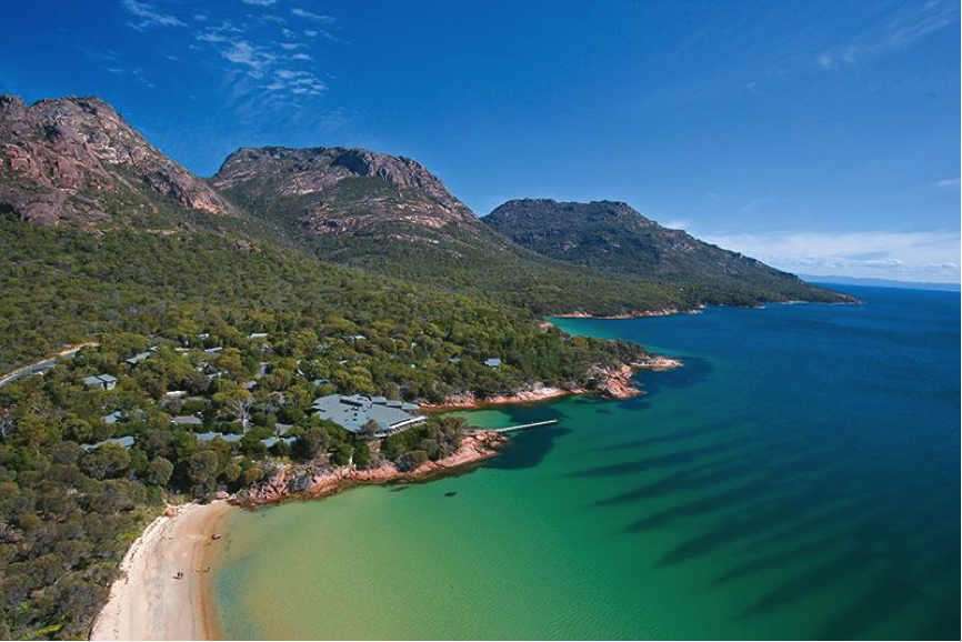 Foto via Freycinet Lodge