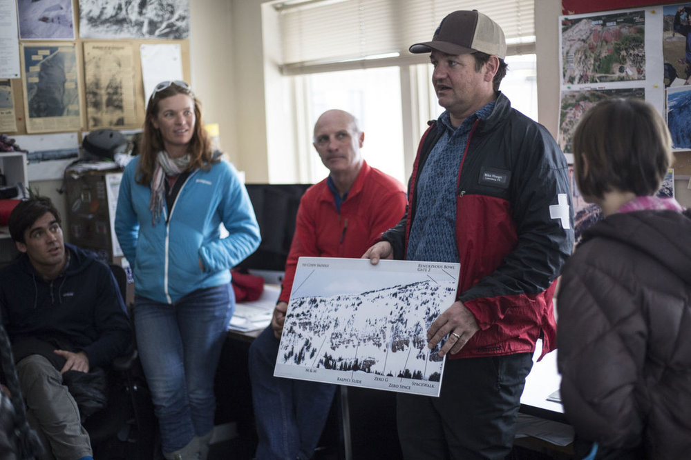 Mike Rheam, Bob Comey, and Sarah Carpenter pictured Right to Left. Photo: Jackson Hole News and Guide