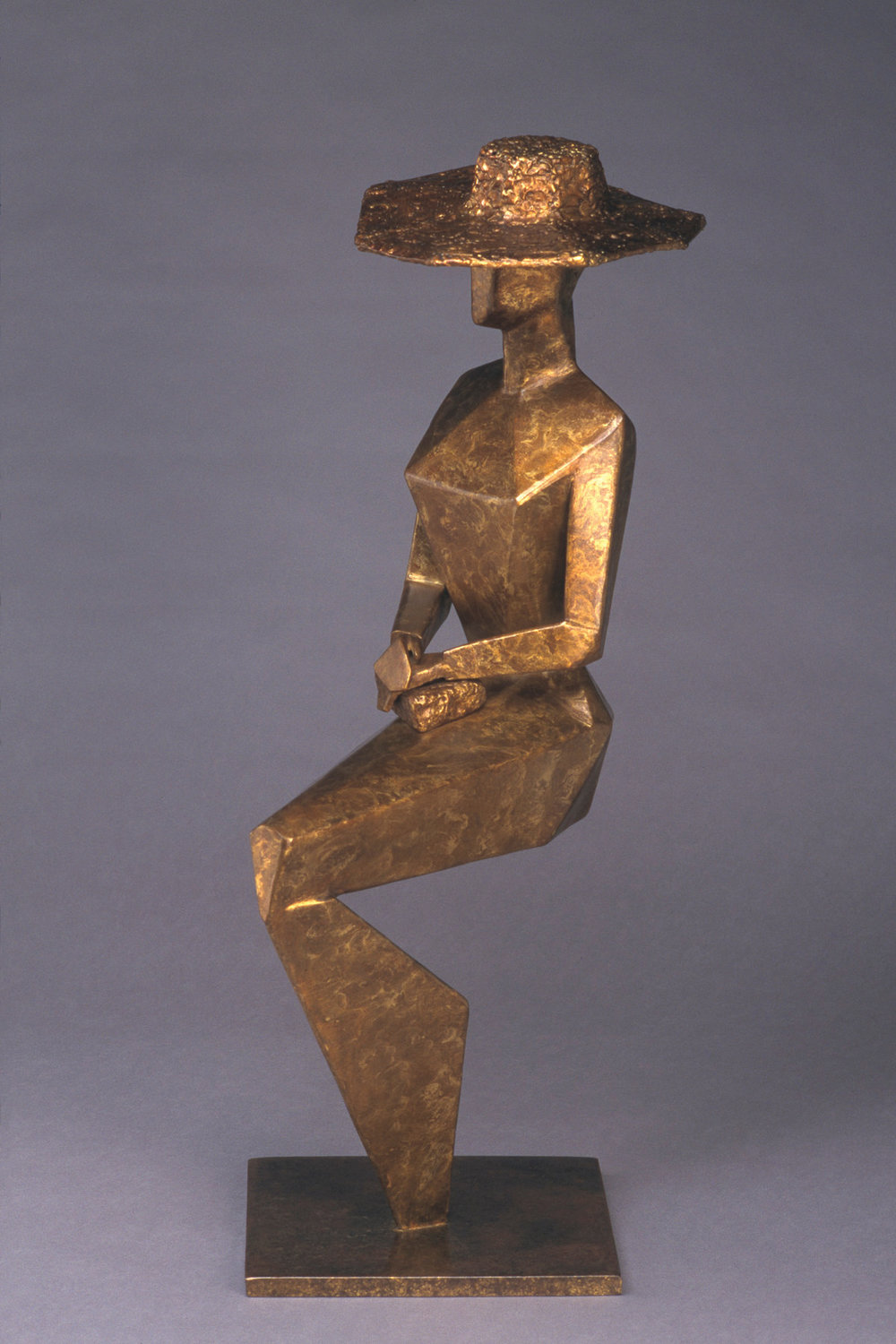 "Complicated Woman   30""H x 12"" D x 10"" W Bronze edition of 25 (one remaining)"