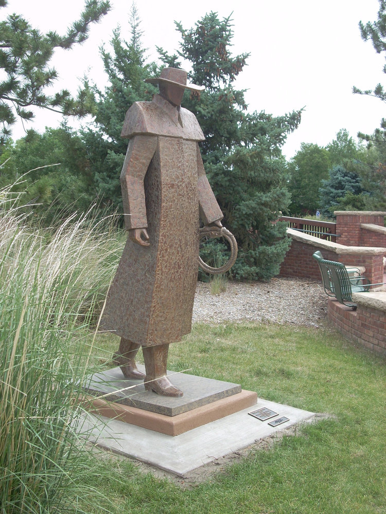 In 2008, the larger than life bronze,   Storm's Brewing  was added to the  Benson Sculpture Garden  located in Loveland, Colorado.