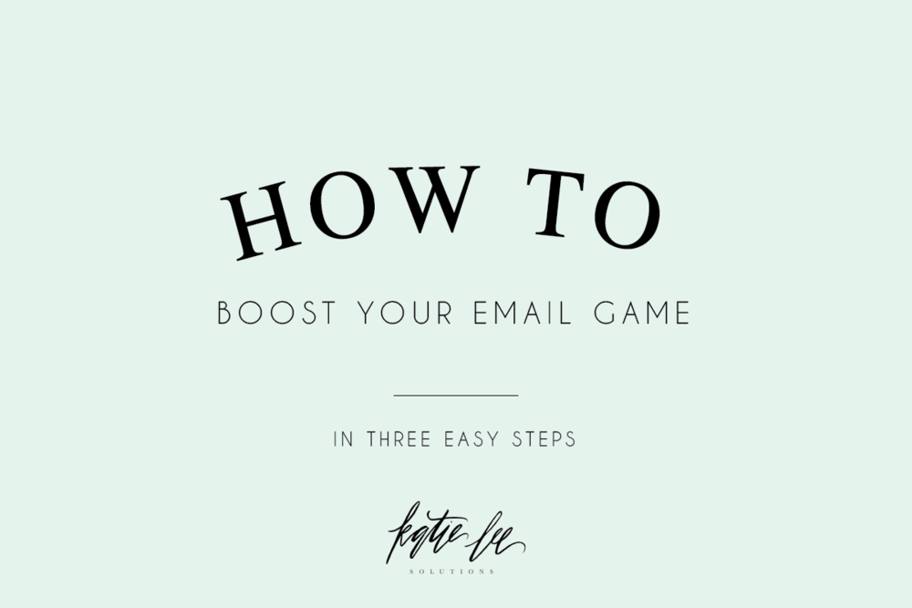 Boost Email Game