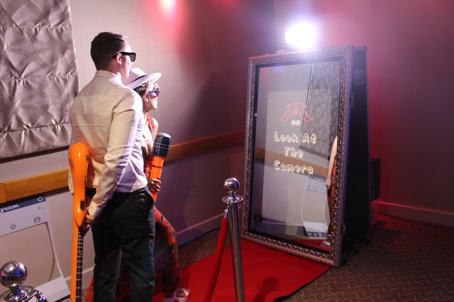 Luxury Photo Booth - Our luxury photo booth is the latest to our collection at WINBOOTH. It's interactive, touch-screen, and will get the party started.