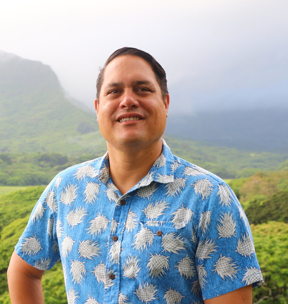 Patrick Kamakanianu Shea, Treasurer - Patrick is an attorney who is active in the Native Hawaiian Bar Association as a member of its board of directors, a member of Ko'olaupoko Hawaiian Civic Club, and a past president of the Outrigger Duke Kahanamoku Foundation. He coaches high school paddling.