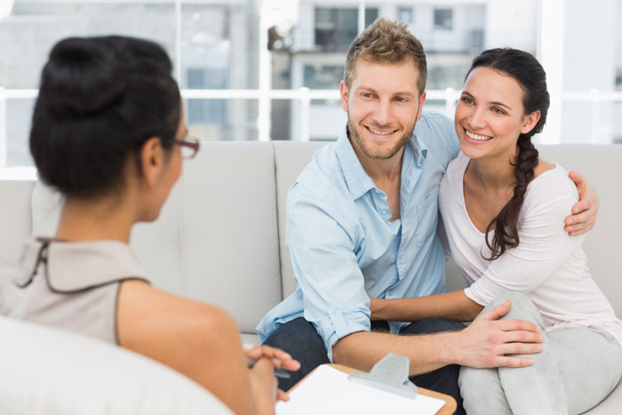 Premarital counseling with a trained therapist can prepare you for a long and lasting marriage.