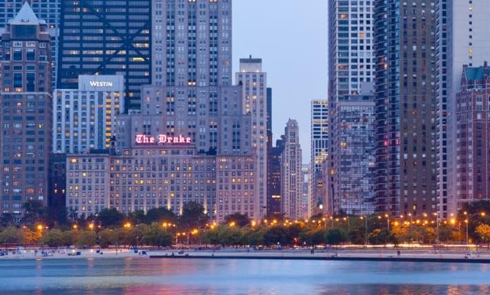 THE DRAKE HOTEL* - 140 East Walton Place Chicago, IL 60611(312) 787-2200 Map LinkTripAdvisor ReviewsCorporate ID: 2657613