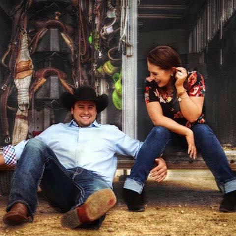 Tate and Calli Williams of Letcher, South Dakota