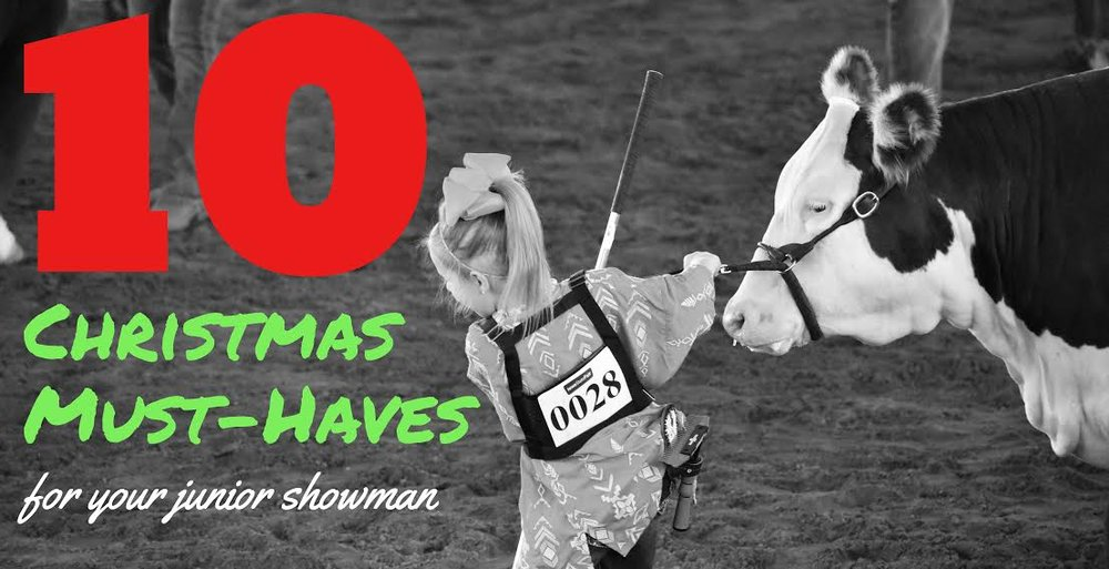 10 christmas must haves for your junior showman arable - Christmas Must Haves