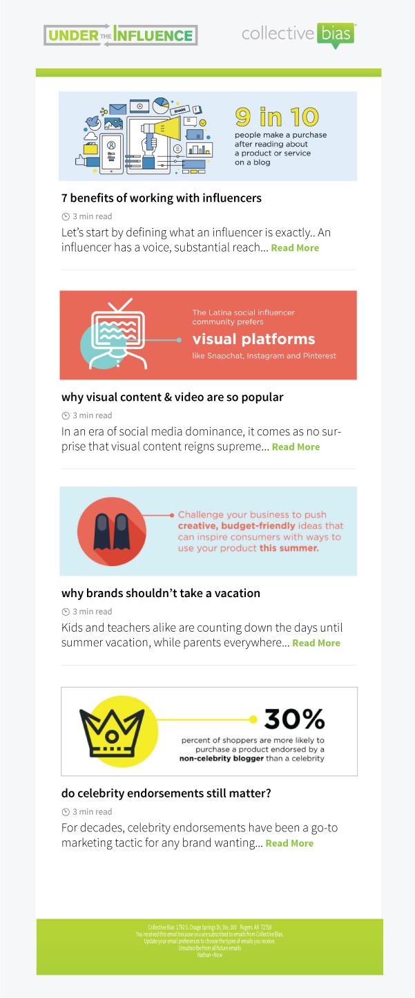 newsletter design -