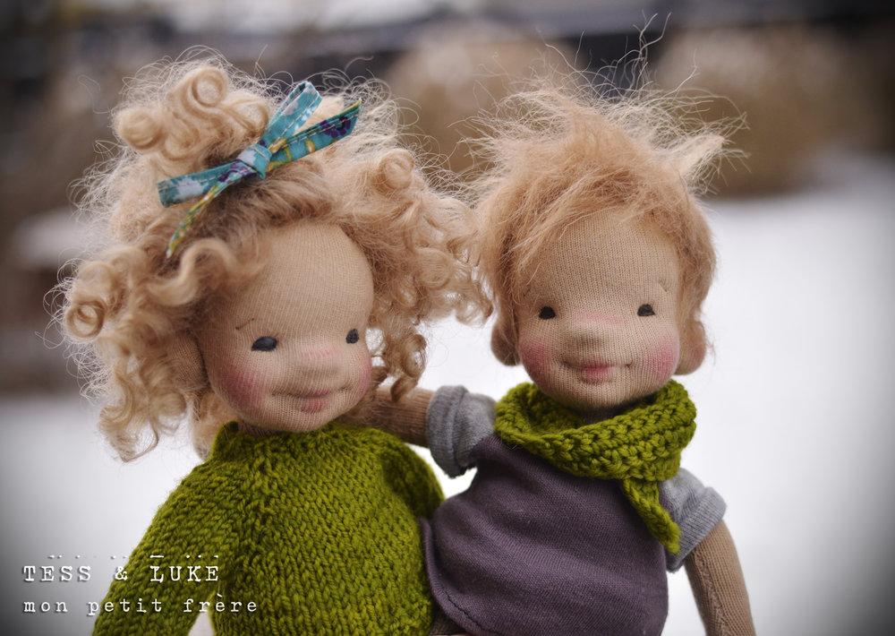 "Tess & Luke, 9"" 2017"