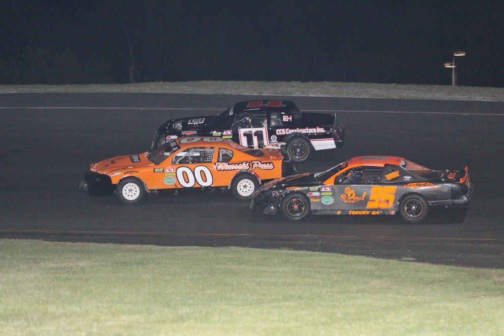 double the tiger action on tap at packed ccv night thunder road