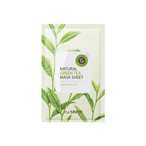 What is it?   The Saem Natural Green Tea Mask Sheet contains green tea extract from Boseong to soothe tired and irritated skin. Green tea has anti-inflammatory properties which makes it ideal for sensitive and irritable skin types.   How to use?   1. After cleansing, tone the skin.  2. Apply mask.  3. Leave on fo 20 to 25 minutes.  4. Remove mask and pat any remaining essence into skin.