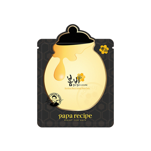 What is it?   The Papa Recipe Bombee Black Honey Mask contains richly moisturising propolis and manuka honey extracts to help moisturise and brighten the skin.   How to use?   1. After cleansing, tone the skin.  2. Apply mask.  3. Leave on for 20 to 30 minutes.  4. Remove mask and pat any remaining essence into skin.