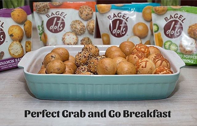 "Testimonial from The Hurried Hostess www.bageldots.com  Bagel Dots are the perfect grab and go breakfast for my family. All of the flavors are good, but the ""Jalapeno Popper"" is my absolute favorite! The Kitchen Sink"" is a close second though!  #BagelDots #ThankYou #OnTheGo #Breakfast #Family"