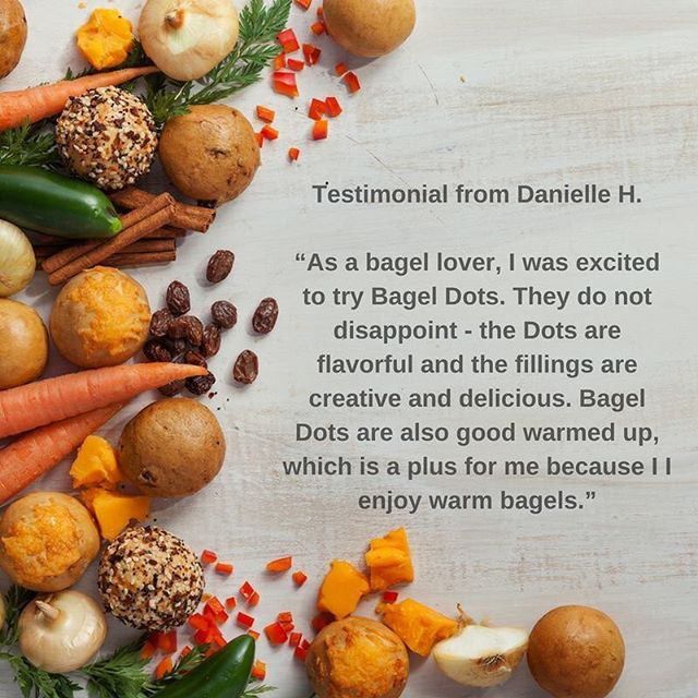 We love hearing from our customers  Find us near you: www.bageldots.com  #BagelDots #ThankYou #Snacks #BiteSize #OnTheGo H-E-B