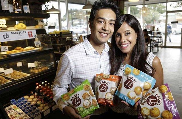 Big thanks to Voyage Houston on the recent write-up on Bagel Dots! Check it out here: http://ow.ly/I3vs30l1nf2  Bagel Dots officially began operations in the Summer of 2014. Prior to that, Aarti, the founder, had been moving through the fast-paced world of corporate America for almost a decade before she decided to follow her dreams and make Bagel Dots a reality.  #BagelDots #Texas H-E-B